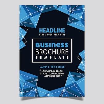 Vektor-jahresbericht-broschüren-schablonen-design