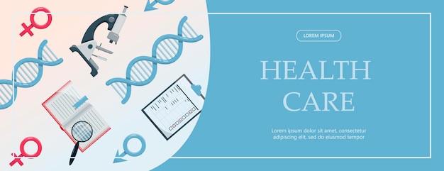 Vektor medizinische banner-apothekenvorlage für krankenhäuser, die apotheken ausbilden, die internationale ...