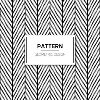 Vektor nahtlose muster. moderne stilvolle textur mit gewellten streifen.