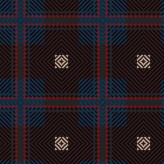 Vektor nahtlose tartan-muster. weinlese-weihnachtshintergrund. nahtloses tartan-plaid. geometrisches design der mode. weihnachten abstraktes muster. schottische gewebte textur. klassisches tartan-nahtloses muster.