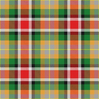Vektor nahtloses muster schottischer tartan alabama