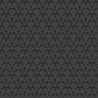 Vektor-perforiertes materielles nahtloses muster