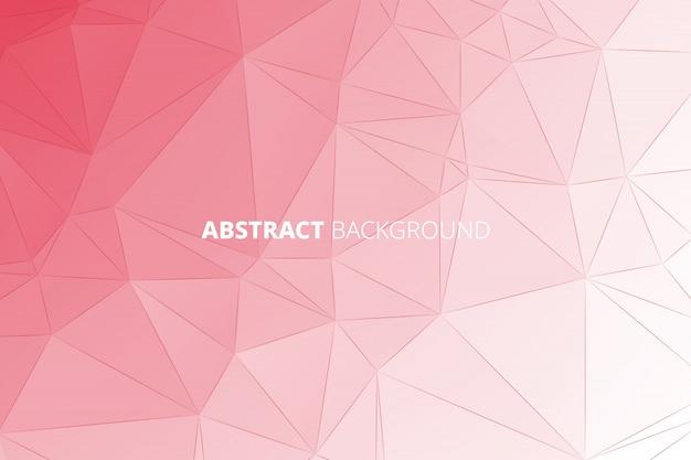 Vektor-polygon-zusammenfassungs-polygonaler geometrischer dreieck-hintergrund