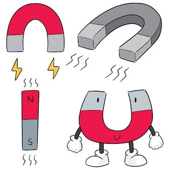 Vektor-set von magneten