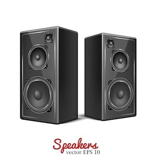 Vektor-sound-lautsprecher, lautsprechersymbol