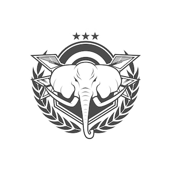 Vektor-vintage-stil-logo