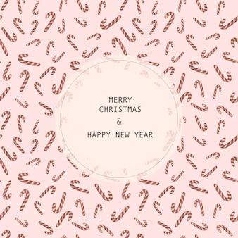 Vektor weihnachten und neujahr nahtlose muster