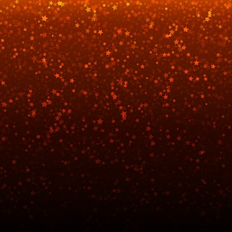 Vektor-weihnachtshintergrund mit goldsternschnuppen.