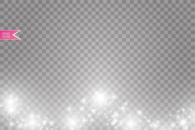 Vektor weiße glitzerwelle abstrakte illustration
