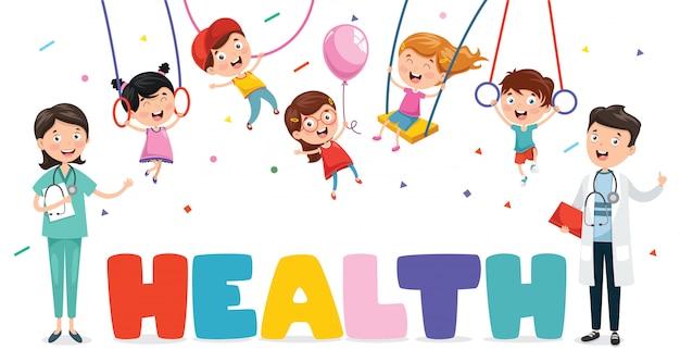 Vektorabbildung medizinisch und gesundheitswesen