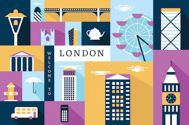 Vektorabbildung von london
