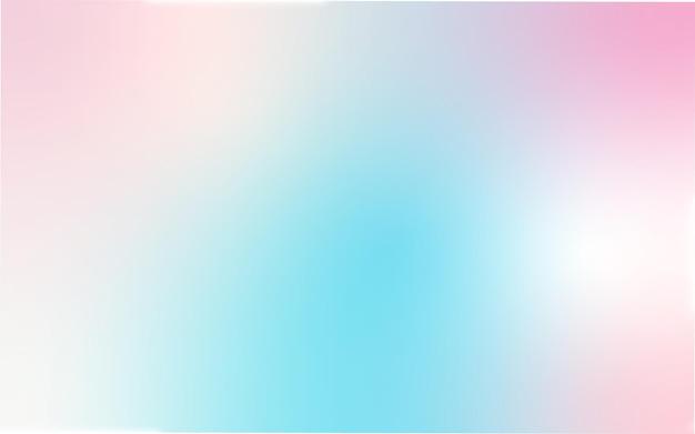 Vektorabstrakter sommer- oder frühlingshintergrund mit steigung für plakatfahne in den blauen und rosa farben