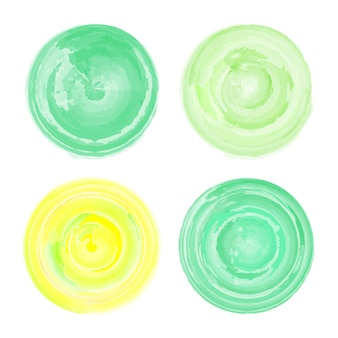 Vektoraquarellillustration des handgezeichneten elements. abstraktes farb-grunge-grafikkonzept. etikettenaufkleber. stempel für handgeschriebene wörter.
