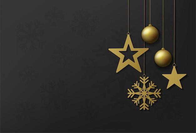 Vektordesign der frohen weihnachten und des guten rutsch ins neue jahr