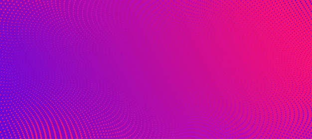 Vektorhintergrund mit farbabstrakten wellenpunkten