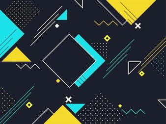 Vektorillustration des abstrakten geometrischen Hintergrundes.