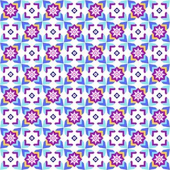 Vektorillustration des abstrakten geometrischen musters. abstrakter hintergrund.