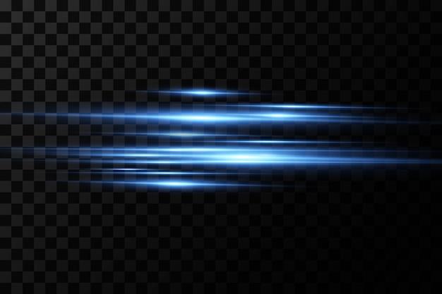 Vektorillustration einer blauen farbe