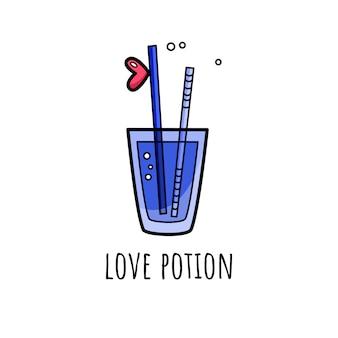 Vektorillustration für valentinstag