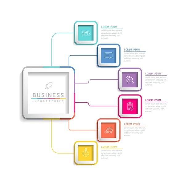 Vektorillustration infografiken designvorlage geschäftspräsentation3 optionen oder schritte
