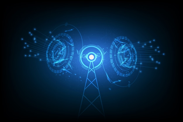 Vektorinternet-signalstelle, antennenkommunikationstechnologie