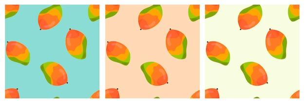 Vektormuster mit leuchtend gelben bananen tropischen früchten muster für t-shirts postkarten
