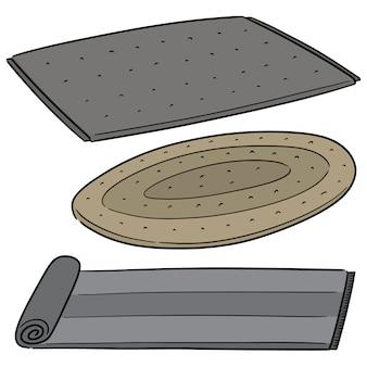 Vektorsatz der matte
