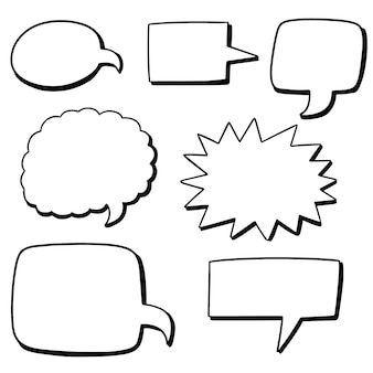 Vektorsatz spracheblasen