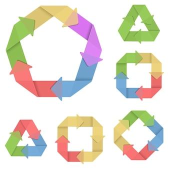 Vektorsystem-zyklus-set 4