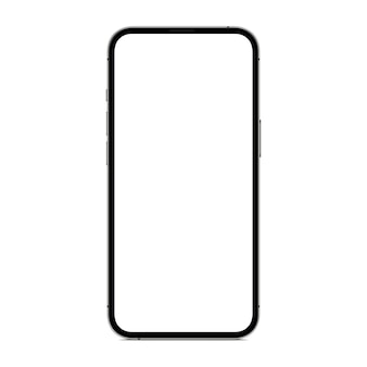 Vektorzeichnung neues telefon isoliert auf weißem hintergrund