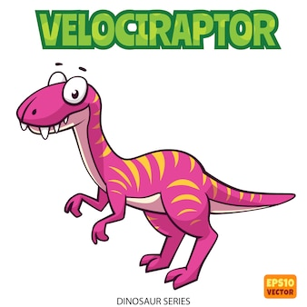 Velociraptor dinosaurier