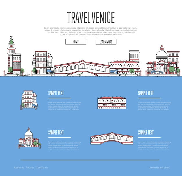 Venedig-stadtreiseferienweb site