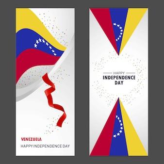 Venezuela glücklicher unabhängigkeitstag
