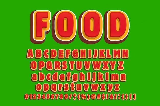 Verdichtete retro- anzeigenschriftart, alphabet, zeichensatz, schriftbild, typografie, buchstaben und zahlen.