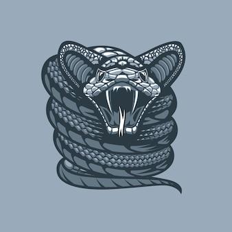 Verdrehte viper