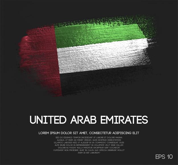 Vereinigte arabische emirate-flagge