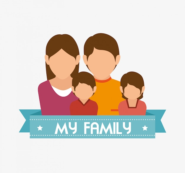 Vereinigte familiengrafik