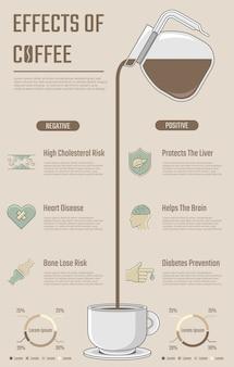 Vergleichs-infografik zur präsentation.