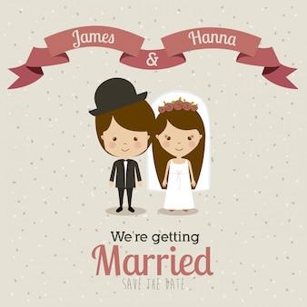 Verheirateter entwurf