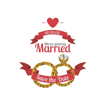 Verheiratetes design