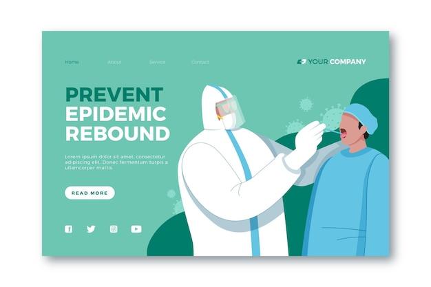 Verhindern sie die zielseite für epidemische rebounds