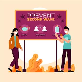 Verhindern sie die zweite welle des coronavirus