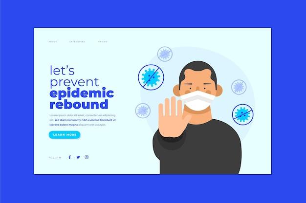 Verhindern sie einen epidemischen rückprall