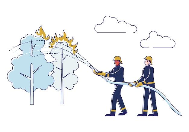 Verhinderung des waldbrandkonzepts