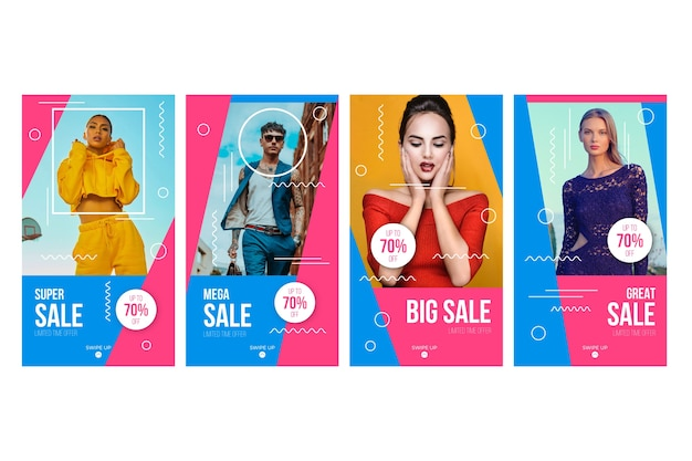 Verkäufe instagram geschichten sammlung