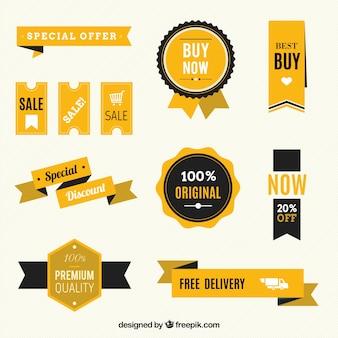 Verkauf abzeichen