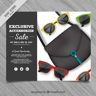Verkauf accessoires flyer
