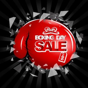 Verkauf am zweiten weihnachtstag