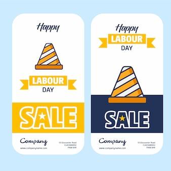 Verkauf-banner-design