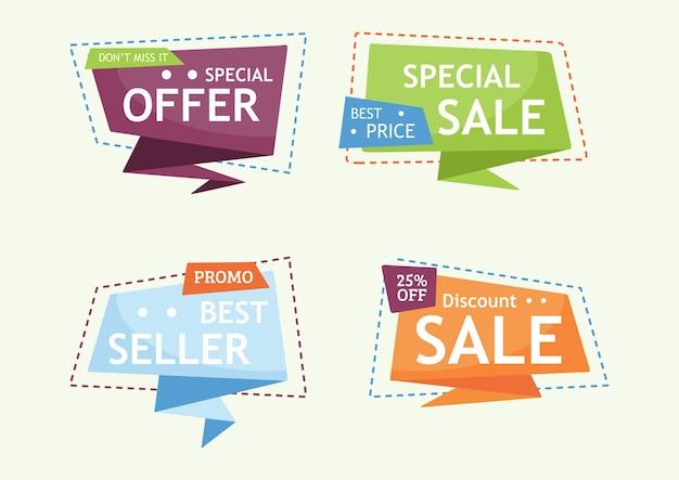 Verkauf banner sammlungen